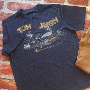 9a74709d Old Navy Shirts & Tops - Old Navy Collectabilitees Tom & Jerry T-shirt